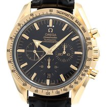 Omega Oro amarillo Automático Negro 42mm usados Speedmaster Broad Arrow