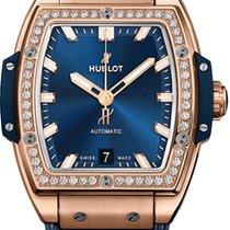 Hublot Spirit of Big Bang Oro rosa 39mm Azul Sin cifras