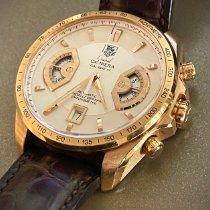 TAG Heuer Grand Carrera Rose gold 43mm White United States of America, California, Playa Vista