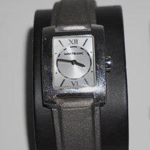 Montblanc Profile Steel 23mm Silver Roman numerals