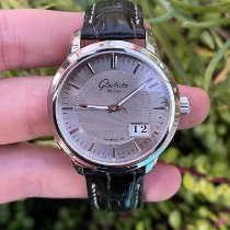 Glashütte Original Steel 40mm pre-owned Senator Panorama Date