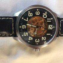 Zeno-Watch Basel Steel 47.5mm 8554 pre-owned United States of America, California, Santa Barbara