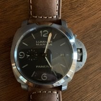 Panerai Luminor Marina 1950 3 Days Automatic Titanio 44mm Negro Arábigos