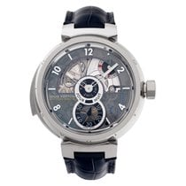 Louis Vuitton White gold 44mm Manual winding LV 40 pre-owned United States of America, Florida, Surfside