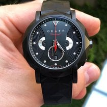 Graf pre-owned Automatic 42mm Black Sapphire crystal