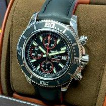 Breitling Superocean Chronograph II Acero 44mm Negro Sin cifras