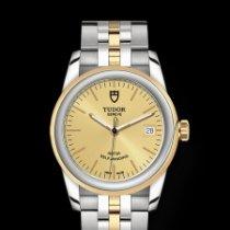 Tudor Glamour Date Золото/Cталь 36mm Цвета шампань Без цифр