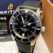 Breitling Superocean Heritage II 42 Сталь 42mm Черный Без цифр