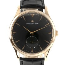 Jaeger-LeCoultre Red gold Automatic Black 40mm pre-owned Master Ultra Thin