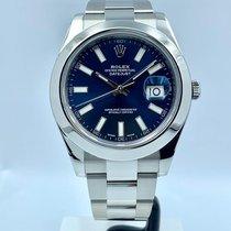 Rolex Datejust II Acero 41mm Azul