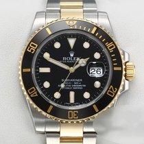 Rolex Or/Acier 2013 Submariner Date 40mm occasion