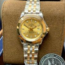 Breitling Galactic 32 Gold/Steel 32mm Champagne