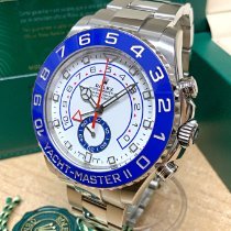 Rolex Yacht-Master II Steel 44mm White No numerals United Kingdom, Wilmslow