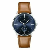 Junghans Meister Hand-winding Steel 38mm Blue United States of America, New Jersey, Cherry Hill