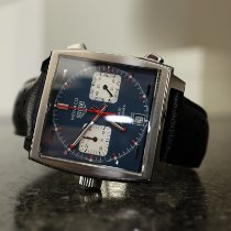 TAG Heuer CAW211P.FC6356 Steel Monaco Calibre 11 39mm pre-owned United States of America, Massachusetts, Arlington