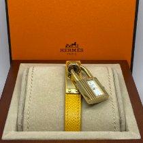 Hermès Kelly Żółte złoto 20mm Biały Bez cyfr