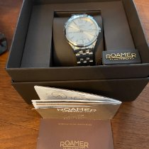 Roamer Steel 41mm Automatic 550660412550 new