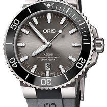 Oris Ceramic Automatic Grey 43.5mm new Aquis Titanium Date
