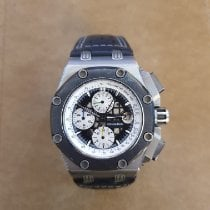 Audemars Piguet Royal Oak Offshore Chronograph usados Negro Piel