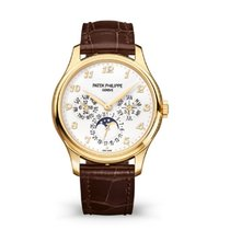 Patek Philippe Perpetual Calendar Yellow gold 39mm Silver Arabic numerals United States of America, New York, New York