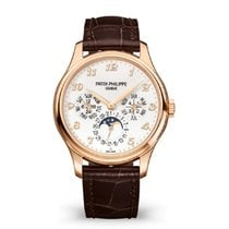 Patek Philippe Perpetual Calendar Rose gold 39mm Silver Arabic numerals United States of America, New York, New York