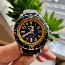 Breitling Superocean 42 Steel 42mm Black Arabic numerals United States of America, New Jersey, hoboken