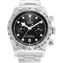 Tudor Black Bay Chrono Steel 41mm Black United States of America, New Jersey, Totowa