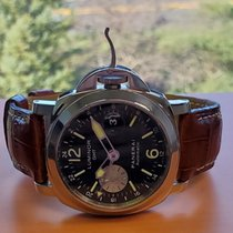 Panerai Luminor GMT Automatic PAM 00088 Good Steel 44mm Automatic United States of America, New Jersey, Holmdel