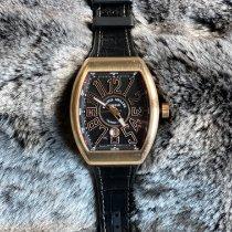 Franck Muller Vanguard Oro rosa 45mm Negro Arábigos
