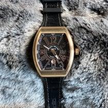 Franck Muller Vanguard Pозовое золото 45mm Черный Aрабские