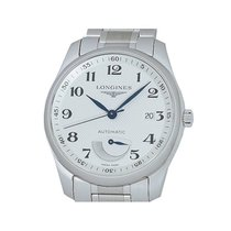 Longines Master Collection pre-owned 40mm Silver