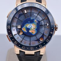 Ulysse Nardin Moonstruck Rose gold 46mm Mother of pearl Arabic numerals United States of America, Texas, Houston