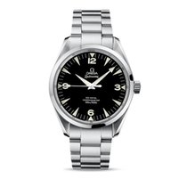 Omega Seamaster Railmaster Steel 41mm Black Arabic numerals