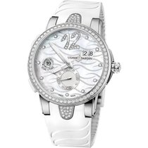 Ulysse Nardin Executive Dual Time Lady new Watch only 243-10/691