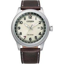 Citizen Steel 42mm BM7480-13X new