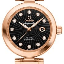 Omega De Ville Ladymatic Or rouge 34mm Noir