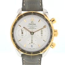 Omega Speedmaster Ladies Chronograph Gold/Steel 38mm Silver United States of America, Florida, Boca Raton