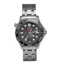 Omega Seamaster Diver 300 M Acero 42mm Negro Sin cifras