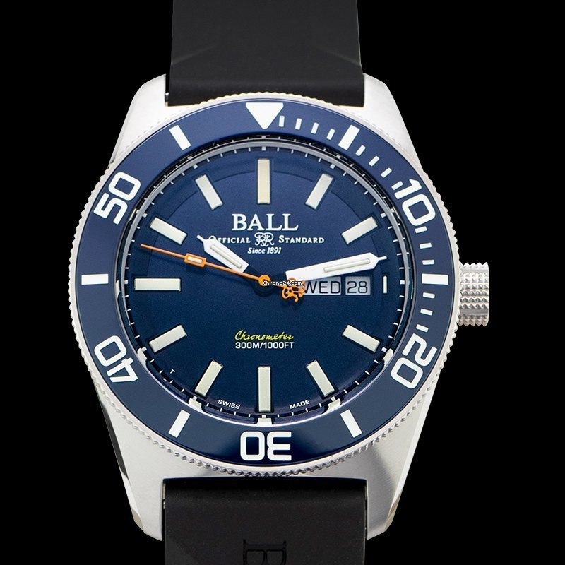Ball Engineer Master II Skindiver DM3308A-P1C-BE 2021 new