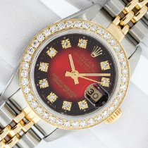 Rolex Lady-Datejust Gold/Steel 26mm Red United States of America, California, Los Angeles