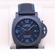 Panerai Carbon Automatic Black 44mm pre-owned
