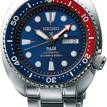 Seiko Prospex Steel 45mm Blue No numerals United States of America, New York, NY