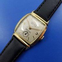 Gruen Precision Gold/Steel 23mm White Arabic numerals