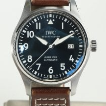 IWC Pilot Mark Steel 40mm Blue Arabic numerals United States of America, Nevada, Las Vegas