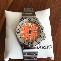 Seiko Monster Steel 42mm Black