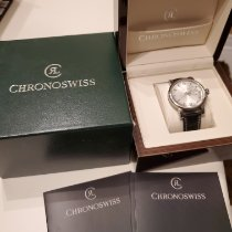 Chronoswiss Pacific Steel 42mm Silver No numerals