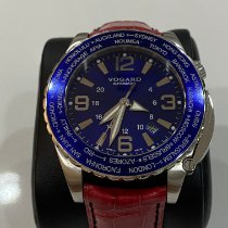 Vogard Steel 45.5 mmmm Automatic Vogard Time Zoner new United States of America, Florida, boynton beach