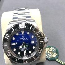 劳力士 Sea-Dweller Deepsea 126660 D-BLUE 全新 钢 44mm 自动上弦
