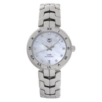 TAG Heuer Link Lady Steel 34.5mm Mother of pearl No numerals United States of America, Florida, Surfside
