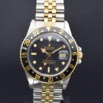 Rolex GMT-Master Gold/Steel 40mm Black No numerals Singapore